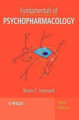 Fundamentals of Psychopharmacology by Brian E. Leonard (English) Paperback Book
