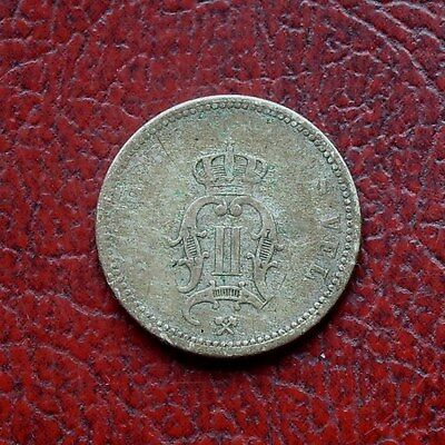 Norway 1892 silver 10 ore
