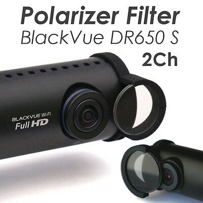 New 2016 MOOVIKA Polarizer Filter Clip Compatible BlackVue DR650S 2CH