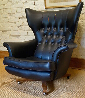 Vintage G Plan 6250 Swivel Chair inc. Reupholstery (Exc. Fabric)