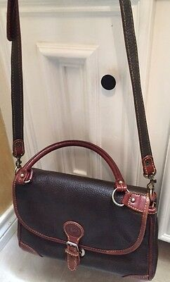 8a5be50d7b LOS ROBLES POLO Time Brown Leather Handbag -  35.00