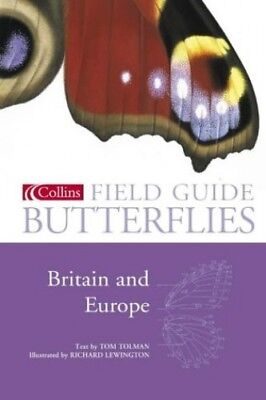 Collins Field Guide - Butterflies of Britain and Europe, Tolman, Tom Hardback