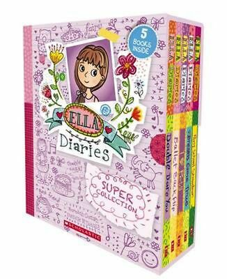 Ella Diaries Super Collection by Costain, Meredith Paperback Book Free Shipping!