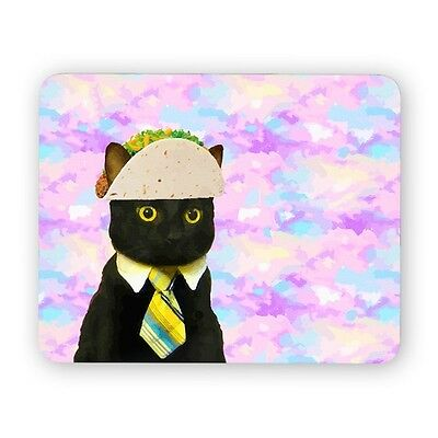 Taco business cat mouse pad