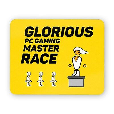 Glorious PC master race mouse pad