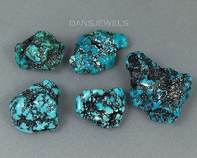 Loose DARLING DARLENE Turquoise Rough Stones 22.5 Grams 112 Carats Free Forms