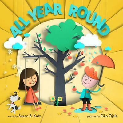 All Year Round by Susan B. Katz (English) Hardcover Book Free Shipping!