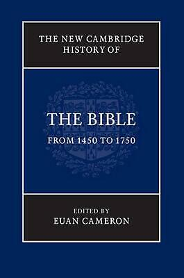 New Cambridge History of the Bible the New Cambridge History of the Bible by Pro