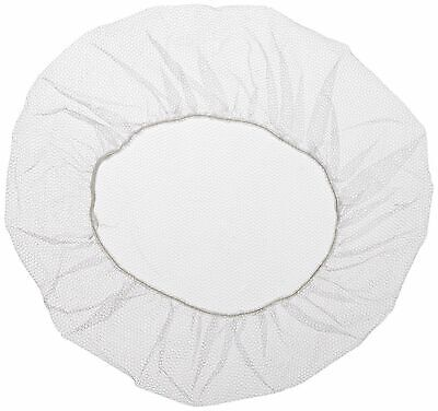 """Shield-Safety 18"""" White Disposable Koronet, Disposable & Latex Free (900 Count)"""