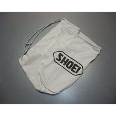 Shoei Drawstring Helmet Bag White For Moto Motorcycle Motorbike Helmets