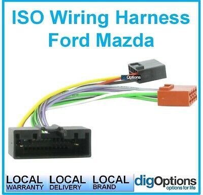 #For Mazda MX6 GE Series 96-06 MPV Harness Wiring  Plug & Play ISO Cable Adapter
