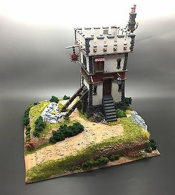 Warhammer Fantasy Age Of Sigmar Kings Of War Scenery Terrain Watch Tower Castle