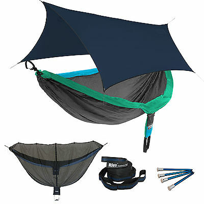 ENO DoubleNest OneLink Sleep System - PCT Special Edition Hammock W/ Navy Profly