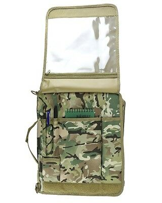 Kombat  BTP / MTP Style  Camouflage MTP A4 Folder Nirex Cover Army RAF  Cadets