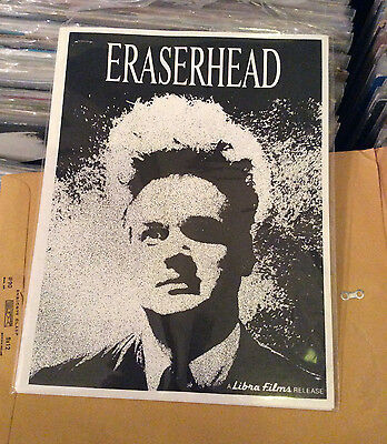 Eraserhead (1977) Press Kit David Lynch Cult Film Glossy Cover And Poster