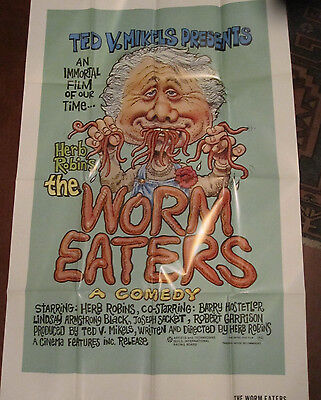The Worm Eaters (1977) Horror Comedy Movie Press Kit 2 Photos And Poster