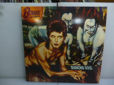 David Bowie-Diamond Dogs-U.k. Cover Red Vinyl Lp-New. Sealed.