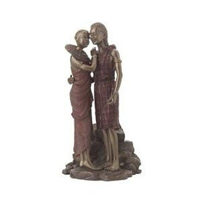 Maasai Collectors Patina Figurine - Wapenzi Closeness