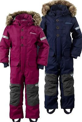 Didriksons Onawa Kids Insulated Coverall Girls Boys Snowsuit