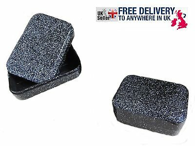 new TRAVEL SOAP DISH BLACK CONTAINER HOLDER TRAY BOX free UK Delivery