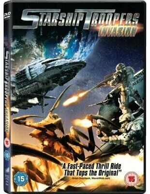 Starship Troopers: Invasion [DVD] - DVD  CWVG The Cheap Fast Free Post