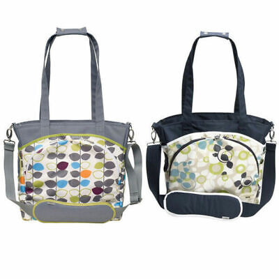 Mode Tote Nursery Baby Nappy/Diaper Handbag/Shoulder bag/Changing Pad/Mat/Holder