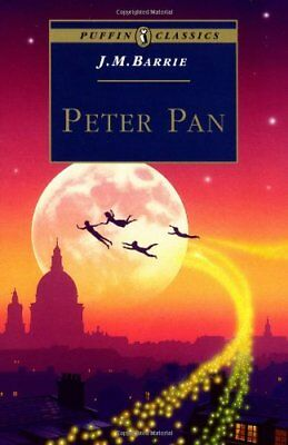 Peter Pan (Puffin Classics), Barrie, J. Paperback Book The Cheap Fast Free Post