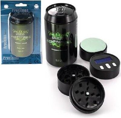 Energy Drink 3in1 Safe Stash Can + Herb Grinder + Digital Scale 0.01g x1 Scales