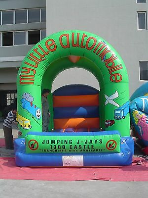 MASSIVE JUMPING CASTLE SALE  4mx4m Castle - Automobile Theme **Commercial** USED
