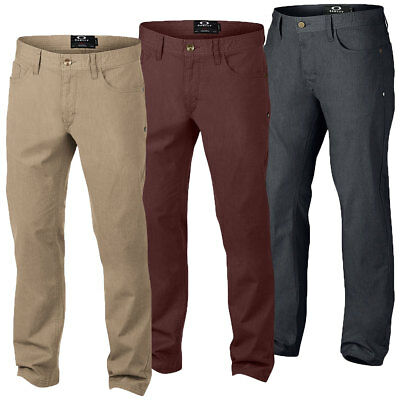 Oakley Sports 2016 Mens 50's Pant Slim Fit Trousers 421991A Stretch Casual Style