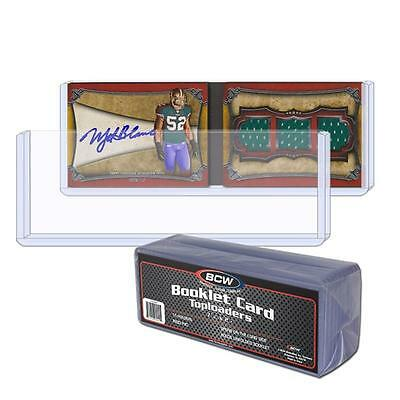 1,500 (3 CASES) BCW Booklet Card Toploaders Book Topload Holders 7 3/8 x 2 1/2