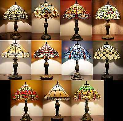 Tiffany Style Lights Handcrafted Table Lamps