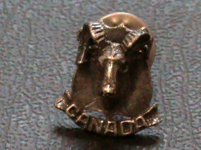 Canada with Elk Lapel/Hat Pin
