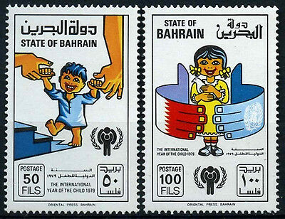 Bahrain 1979 SG#256-7 Year Of The Child MNH Set #D33762
