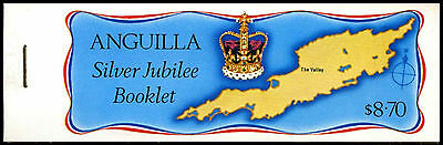Anguilla 1977 SG#SB1a SIlver Jubilee Stamp Booklet MNH #C37461