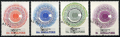 Singapore 1983 SG#443-6 Commonwealth Cto Used Set #D33622