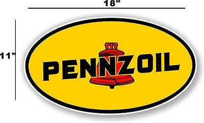 5 inch BE OWL OIL WISE PENNZOIL GASOLINE LUBSTER DECAL GAS OIL CAN PUMP STICKER