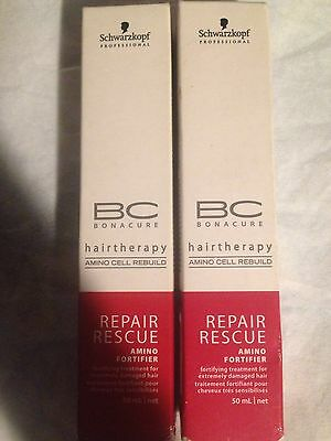 Schwarskopf Bc Bonacure Repair Rescue 50 Ml Lot De 2