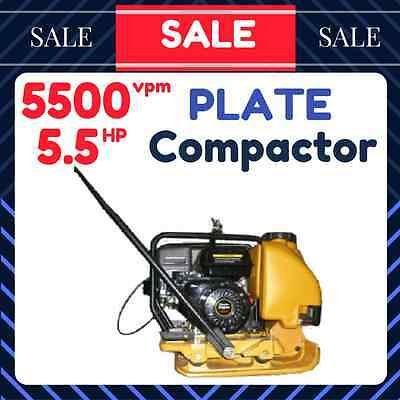 Plate Compactor Vibrating Roller 5.5 Hp 100Kg