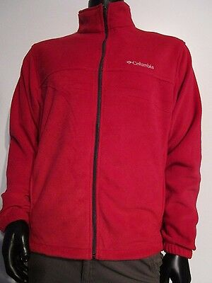 NWT Mens M L XL Columbia Granite Mountain Full Zip Fleece Jacket XM6354-675