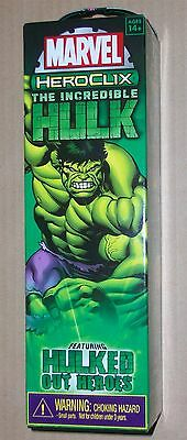 The Incredible Hulk Heroclix 5 figure booster pack New Sealed