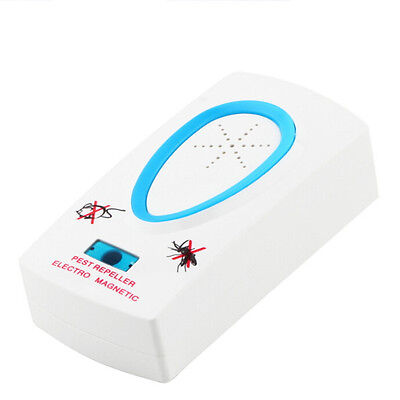 NEW Magnetic Ultrasonic Electronic Pest Mouse Bug Mosquito Insect Repeller devic
