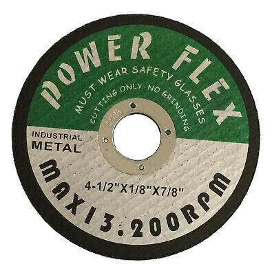 "( 100-PC )  Cut-off Wheel 4-1/2"" X 1/8"" X 7/8"" - ( PIRANHA POWER )"