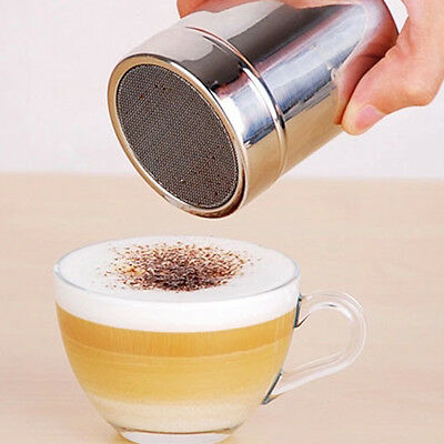 Newest Stainless Steel Chocolate Shaker Flour Powder Sugar Coffee Sifter