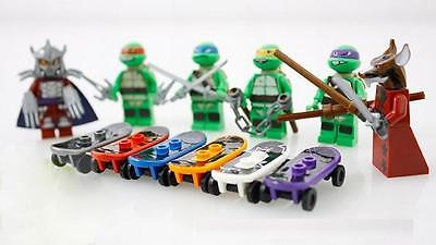 Hot! 6 Sets Minifigures Teenage Mutant Ninjago Ninja Turtles Toys Souptoys DR
