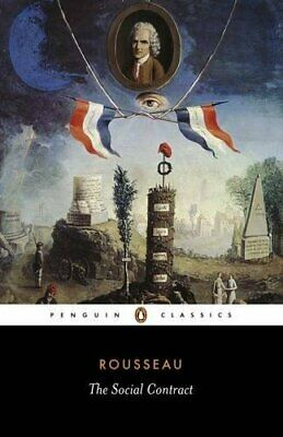 The Social Contract (Classics) by Rousseau, Jean Jacque Paperback Book The Cheap