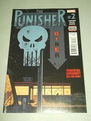 Punisher #2 Marvel Comics August 2016 Nm (9.4)