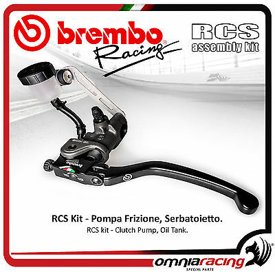 BREMBO RCS 16 Radial Clutch Master Cylinder ref. 110A26350 + Tank Kit 110A26386