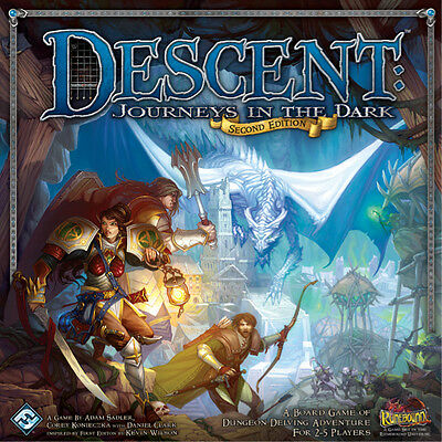 Descent 2nd Edition Journeys in the Dark - Fantasy Flight Games - New Board Game