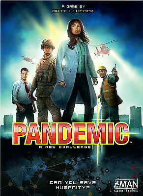 Pandemic - Z-Man Games - New Board Game